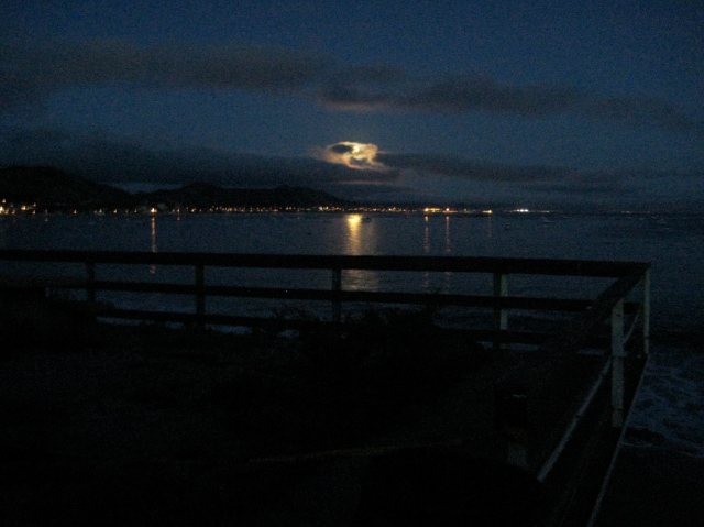 Avila Beach Moonrise - Laura Marinangeli