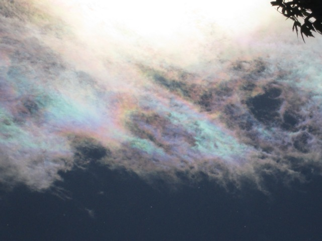 SRM - Intentionally dispersed aerosols... heavy metal nano-particulates refracting sunlight.